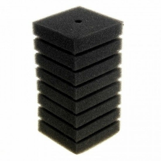 Губка для фильтра квадратная 55x120 мм