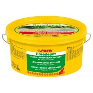 Sera floredepot 2,4 кг Питательный грунт для аквариумных растений