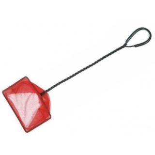 Аквариумный сачок с удлиннёной ручкой, 10*7,5*45 см