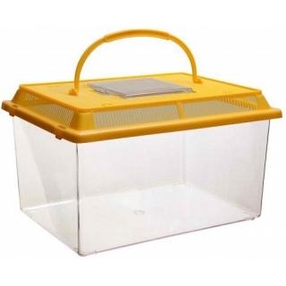 Переноска-аквариум с пластиковой крышкой