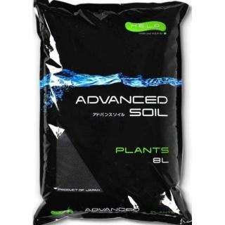 Aquael ADVANCED SOIL PLANTS - грунт для растений, 8 литров
