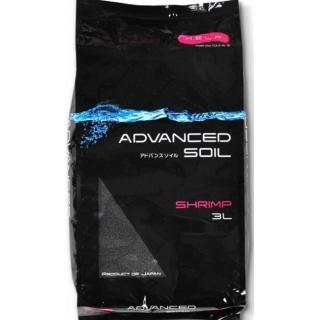 Aquael ADVANCED SOIL SHRIMP - грунт для креветочников, 3 литра