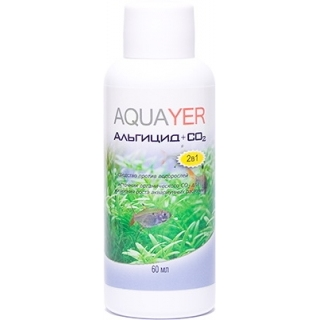 AQUAYER, Альгицид+СО2, 60 мл