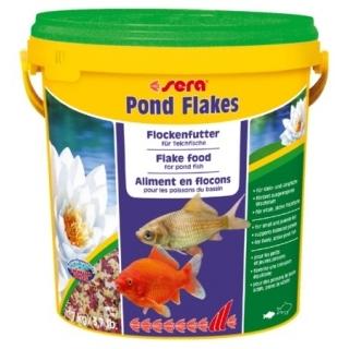 Sera Pond Flakes 10 литров - хлопья для прудовых рыб