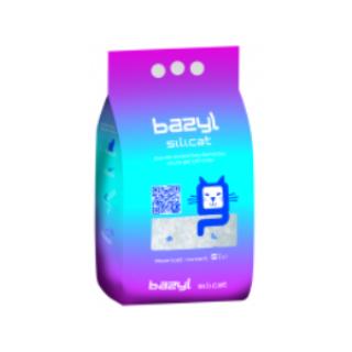 """Наполнитель для кошачьего туалета """"BAZYL"""", силикагелевый, 5 литров"""
