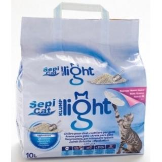 """Наполнитель для кошачьего туалета """"Sepicat KLUMP LIGHT"""", комкующийся, 10л"""