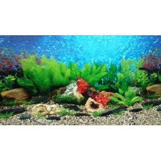 Фон для аквариума двусторонний, высота 50 см