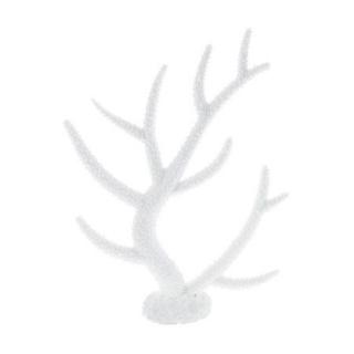 Пластиковый коралл белый 26x6,4x33,5 см