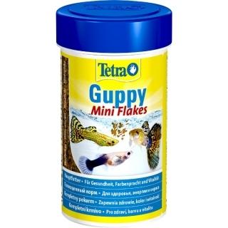 Tetra Guppy Mini Flakes 100 мл