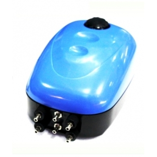 Atman HP-6000, Аэратор аквариумный на 6 выходов с регулятором потока