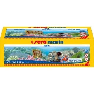 Морская соль для аквариума Sera Marin Salt 1300 гр