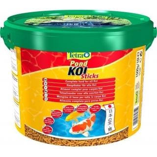 Tetra Pond Koi Sticks 10 литров - корм в виде палочек для карпов Кои