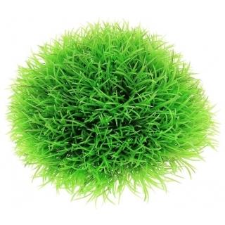 Растение ШАР, зелёное идеальное укрытие для мальков, ф12 см