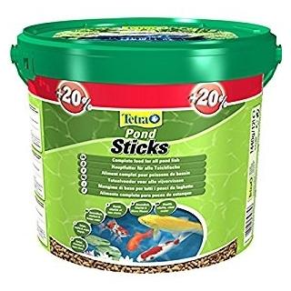 Tetra Pond Sticks 12 литров - корм для прудовых рыб