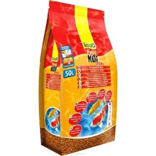 Tetra Pond Koi Sticks 50 литров - корм для прудовых рыб