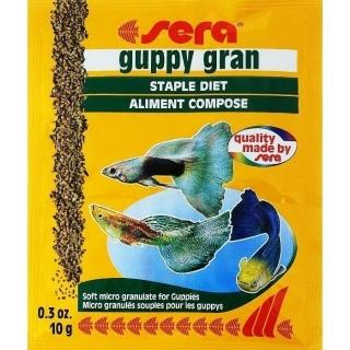Sera Guppy Gran 10 гр