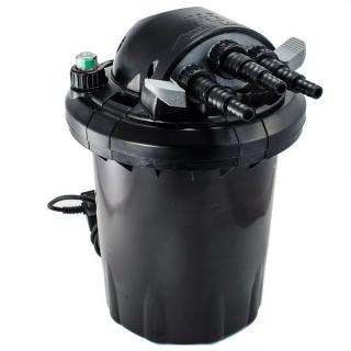 JEBAO CF-20, Прудовый напорный фильтр с УФ-лампой 9 Вт, с обратной промывкой