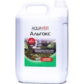 AQUAYER Альгокс 5 литров, на 50 м3