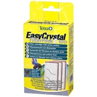 Tetra EasyCrystal FilterPack С 100 - Набор катриджей для аквариума Cascade Globe 6,8 л