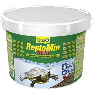 Tetra ReptoMin 10 литров, корм для водных черепах