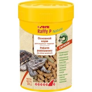 Sera Raffy P Nature 100 мл, корм для водяных черепах