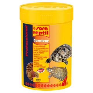 Sera reptil Professional Carnivor 100 мл, корм для плотоядных рептилий