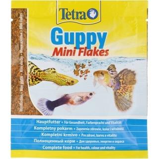 Tetra Guppy Mini Flakes 12 гр