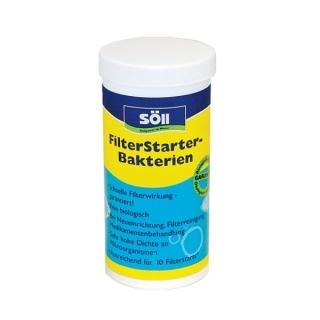 Препарат для запуска систем фильтрации (стартовые бактерии) Söll FilterStarterBakterien, на развес, 1 литр