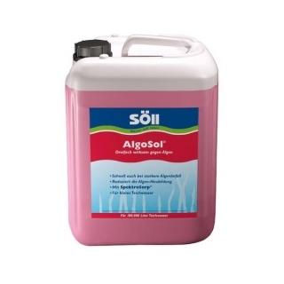 Cредство против водорослей Söll AlgoSol, 10 литров на 200 м3