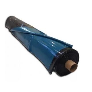 """Пленка CЭВА для водоемов """"Светлица водяной"""", ширина 6м, двухцветная черная / морская волна, 0.4 мм (400 мк), за м2"""