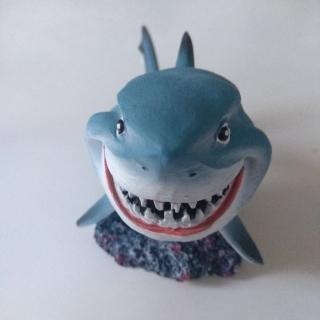 """Декорация для аквариума """"Улыбающаяся акула"""""""